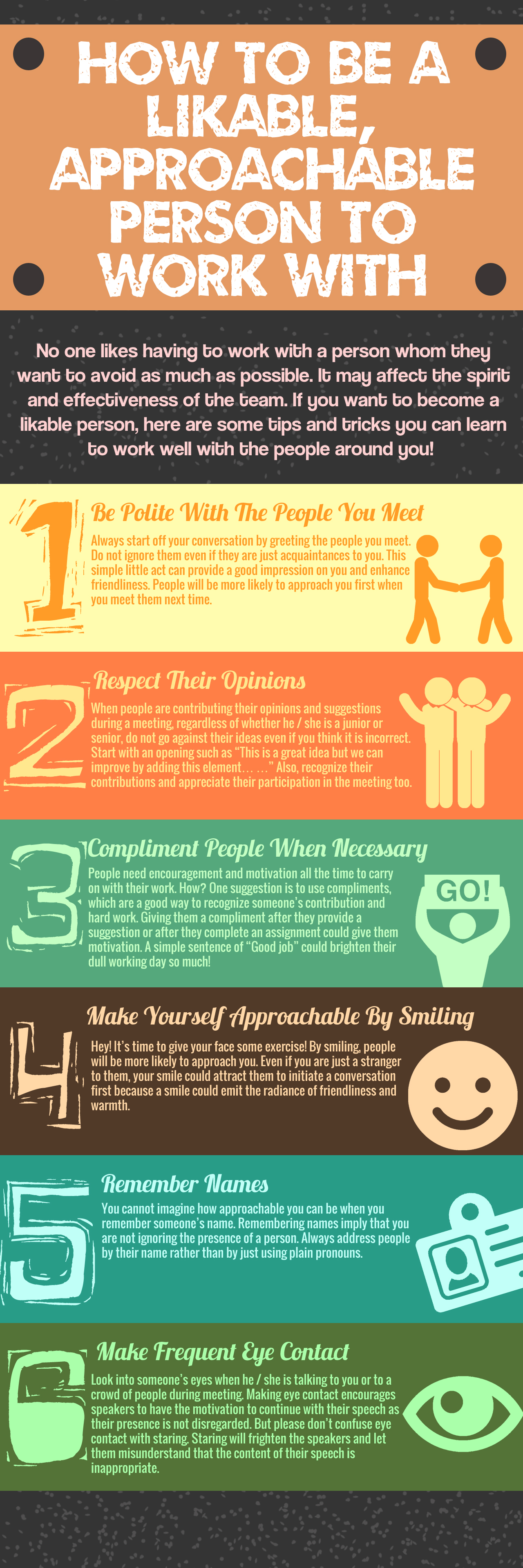 How To Be A Likable Person To Work With?